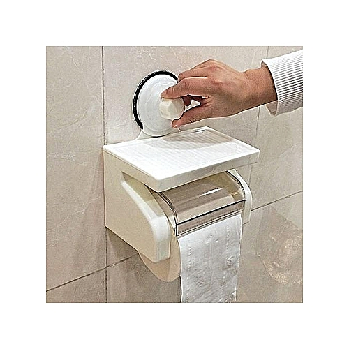 Tissue Holder With Super Suction Cup