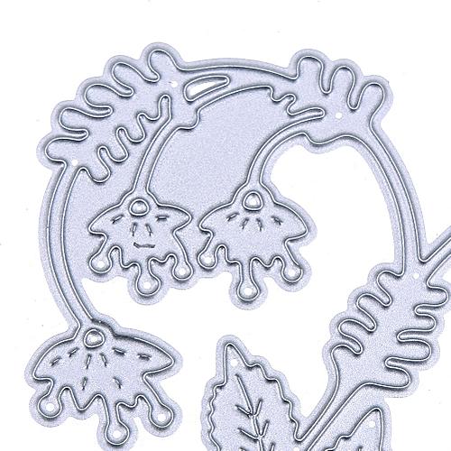 Watermalend Snowflake Metal Cutting Dies Stencils DIY Scrapbooking Album Paper Card