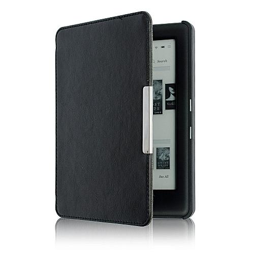 Magnetic Auto Sleep Slim Cover Case Hard Shell For KOBO GLO HD 6.0inch BK