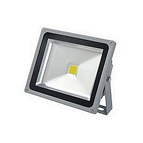 Head 30W LED Security Flood Light - White