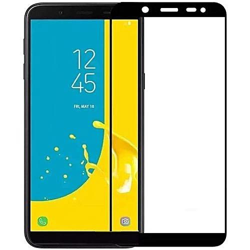 Samsung Galaxy J4 Plus Tempered Glass Screen Protector-black