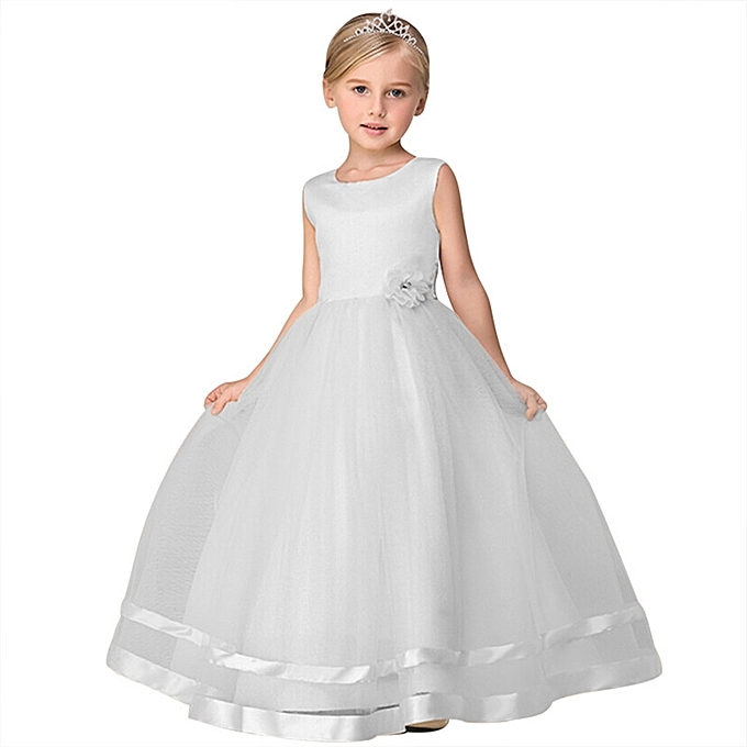 7ed81ae3c1 Fashion Kids Wedding Girl Dress Flower Students Party Gown | Jumia NG