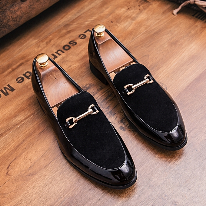 66e794aac732 FLANGESIO Gentleman Leather Shoes Men Italian Luxury Designer Formal ...