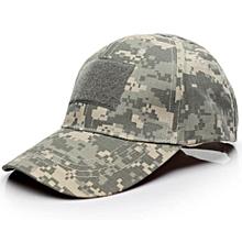 Herkiller Outdoor Camo Tactical American US Flag Baseball Hat Cap-Camouflage