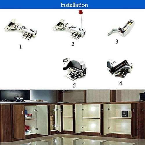 Universal Cabinet Hinge LED Sensor Light For Kitchen Living Room Bedroom Cupboard Closet Wardrobe Lamp