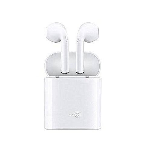 I7S TWS Wireless Bluetooth - White.