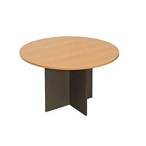 Round Meeting Table - Beech -900MM - Diameter X 720MM - High