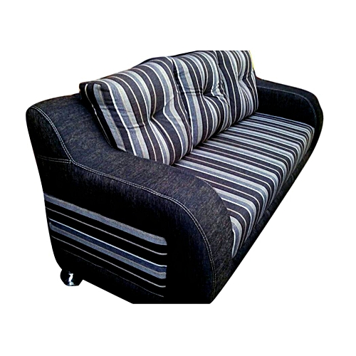 PAWA FURNITURE SPECIAL BROWN STRIPED 7-Seater Sofa Set + Free Ottoman (Delivery To Only Lagos Costomers)