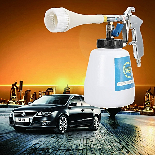 1L Car Wash Spray Water Surface Pneumatic Cleaning Car Care Washer Tool With Brush