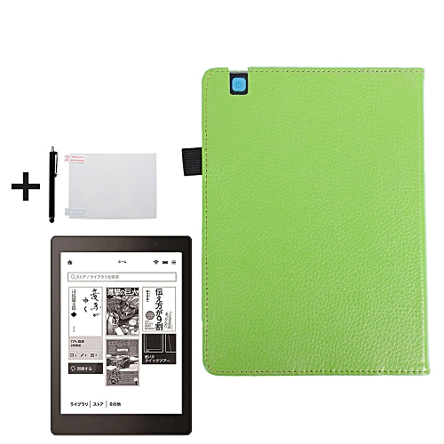Magnetic Auto Sleep Leather Cover Case For KOBO Arua One EReader GN
