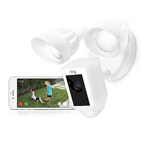 Ring Floodlight Camera Motion-Activated HD Security Cam