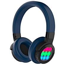 d5ef80fea15 Wireless Bluetooth Earphones Headphone Headset & Mic, Bass, Dark Blue,  Led