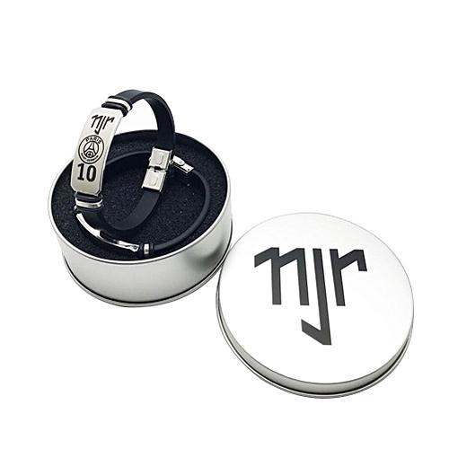 Life EraserMan Simple Fashion Bracelets Creative Football World Cup Lionel Messi Cristiano Ronaldo Nermar Stainless Ste