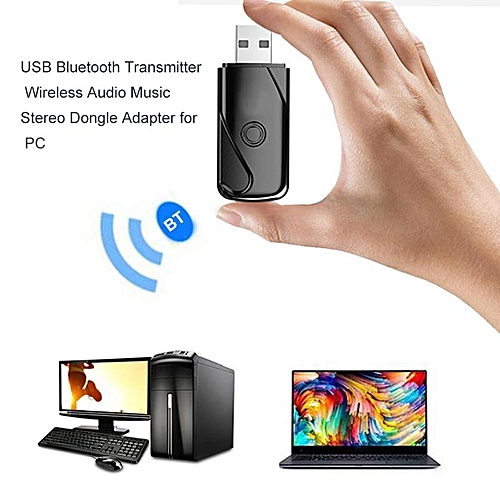 New USB Bluetooth Transmitters Mini Adapter 4.2 Wireless Audio Music Stereo Transmit Dongle Transmitter For PC Laprop Computer