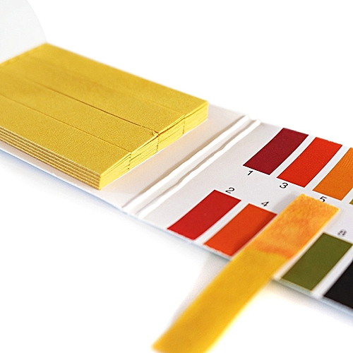 1 - 14 PH Paper Strips Universal Indicator Test Kit 80pcs / Box - Yellow