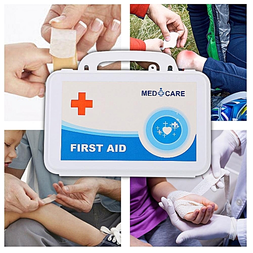 First Aid Kit Emergency Medical Rescue Bag Treatment Case Set For Home And Travel