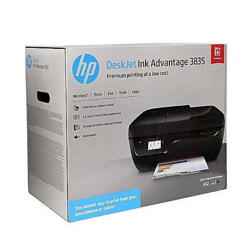 3835 All-in-One WiFi Color DeskJet Printer