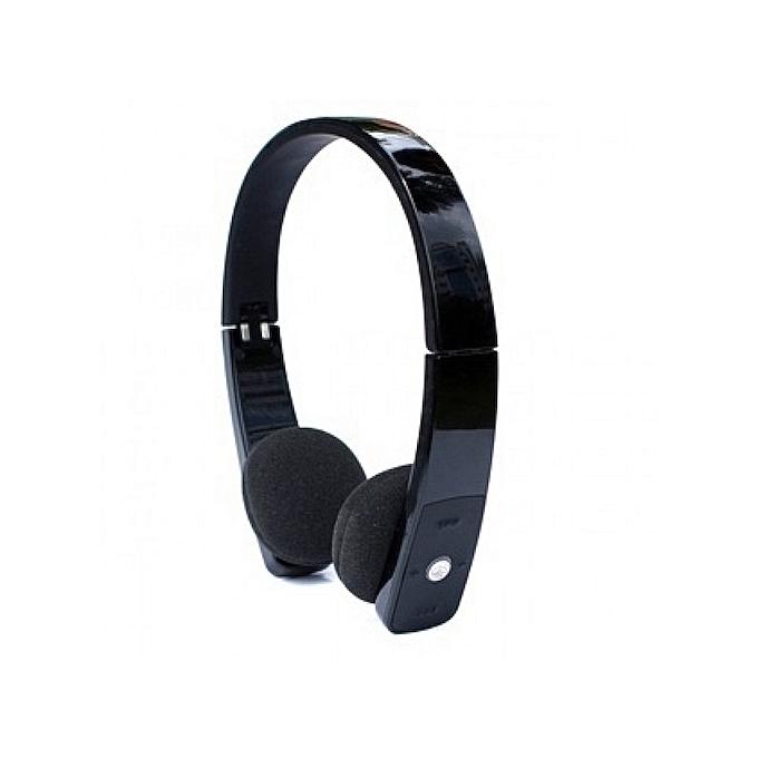 340344a6263 Generic H610 Bluetooth Stereo Headset Black | Jumia NG