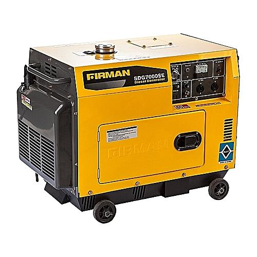 Diesel Generator Intended Firman Sdg7000se Diesel Generator Jumiacomng