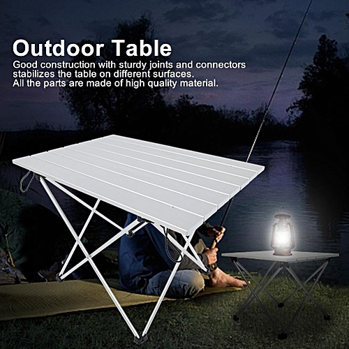 Aluminum Alloy Table Foldable Desk Table Outdoor Camping