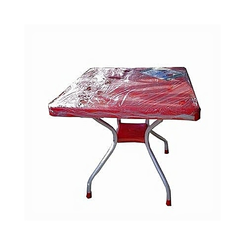 80x60cm Fuji Foldable Table - Red