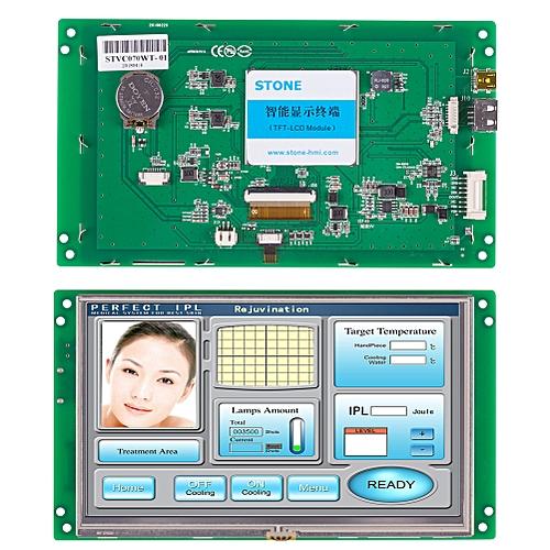 "7"" High Brightness TFT LCD Control Display"