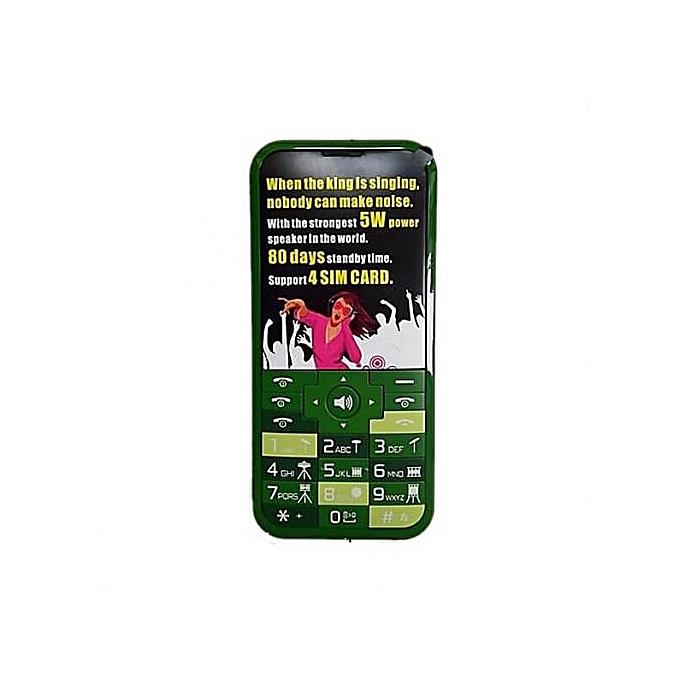 5e68902ada2808 Music King-2.8inch Display Screen Mobile Phone,15000mAh Battery,4Sim Card -