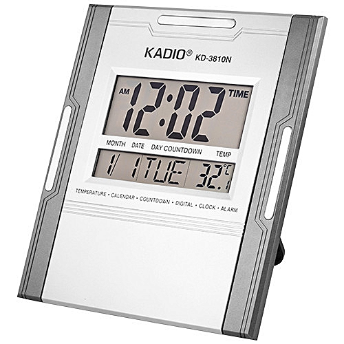 Digital Alarm Clock For Home / Office -(Wall/Desk)