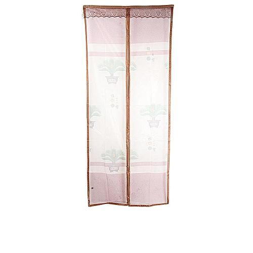 Magnetic Door Mesh - 90cm x 210cm -Coffee