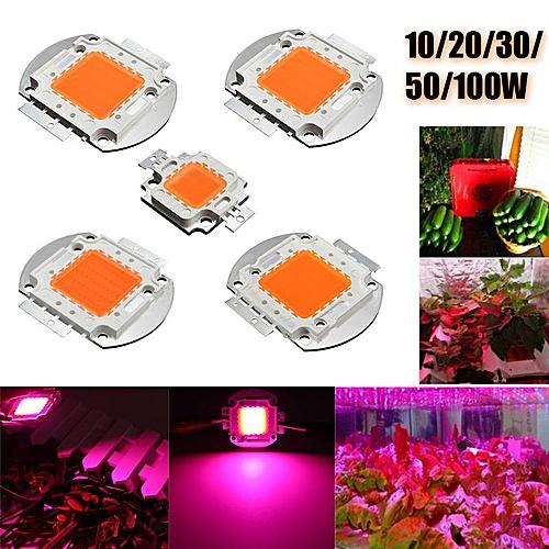 10x 10W 9-12V 1050MA Full Spectrum High Power LED Chip Grow Light