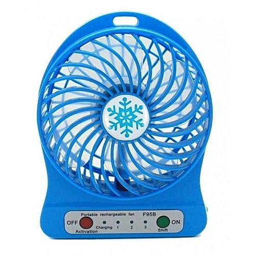 USB Rechargeable Fan - With Battery