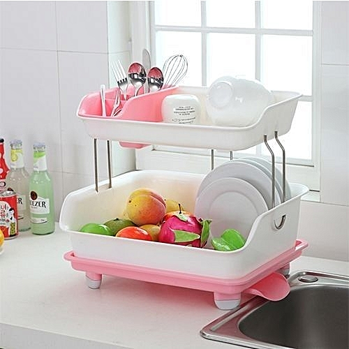 MULTIPURPOSE DISH RACK - Colour Vary