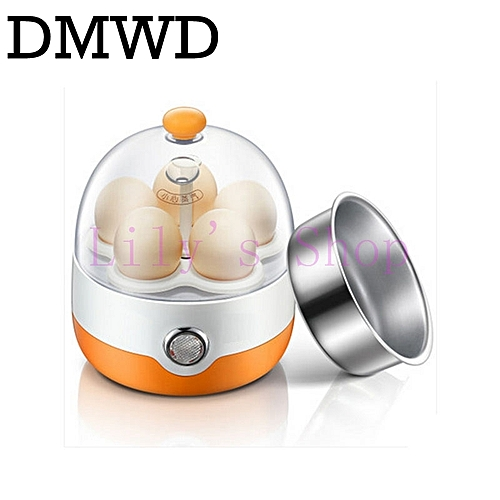 DMWD Eggs Device Multifunction MINI Electric Egg Cooker Boiler Steamer Automatic Power-off Boil Poacher Kitchen Cooking Tools EU
