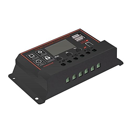 12V/24V Solar Panel Charge Controller Battery Regulator Dual USB