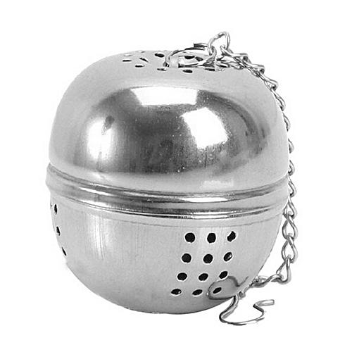 Stainless Steel Ball Tea Infuser Mesh Filter Strainer Loose Leaf Spice Kitchen