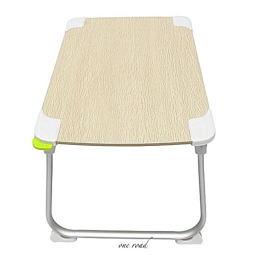 Foldable Desk Notebook Tray Bed Portable Home Desk Companion Tv Dinner