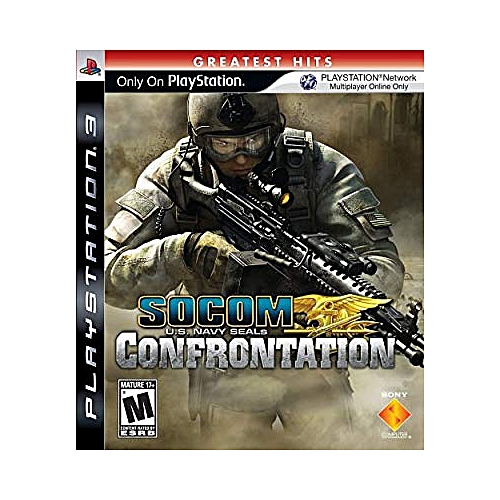 Playstation 3 Socom Confrontation