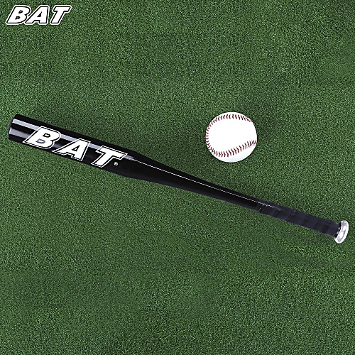 BAT 25 Inch Aluminum Alloy Outdoor Sports Soft Baseball - Black