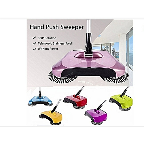 Magic Sweeper Automatic Spinning Broom And Vacuum Cleaner Cordless No Battery Required