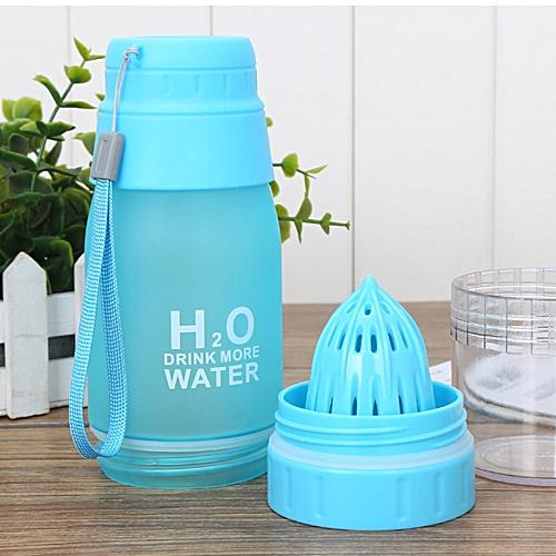 650ML Lemon Cup H2O Drink Water Bottle Drink More Water Drinking Bike Bottle