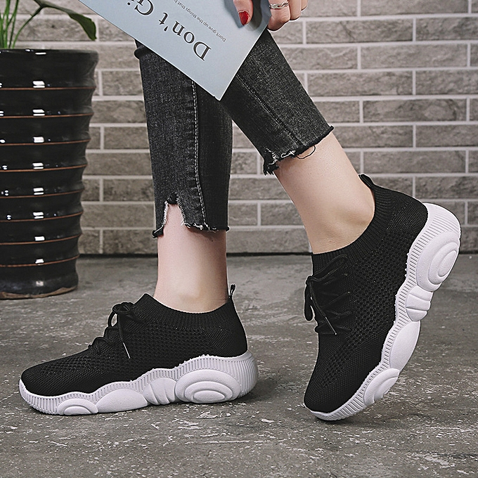 Stylish Fitted Ladies Sneakers