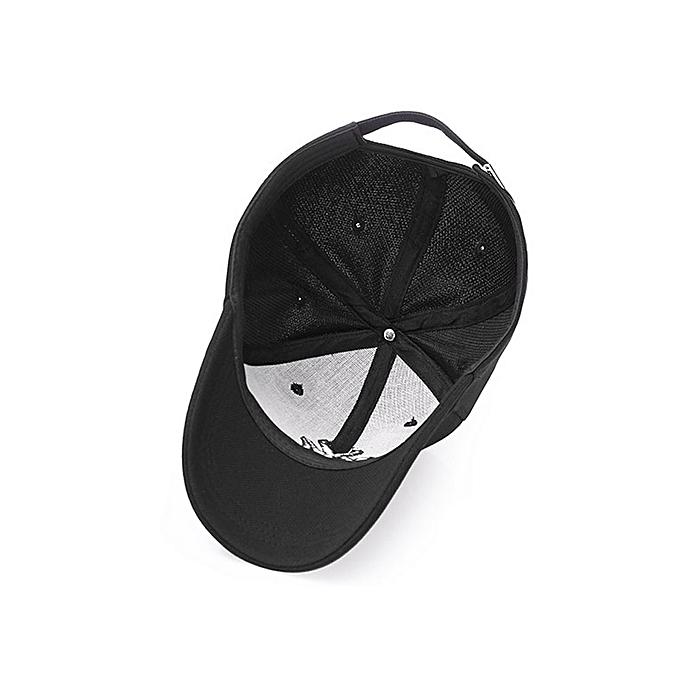 098b01c7b48 Fashion Fashion NY Designer Baseball Face Cap Hat- Black