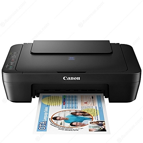 Pixma E414 Inkjet Photo Printer (All-In-One) Print, Scan & Copy