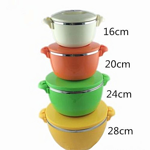 Thermocers Stainless Steel Fresh Pot 4 Pieces