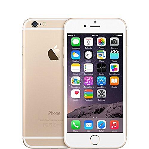 IPhone 6 64GB Smartphone Apple Certified 4.7 Inch Finger Sensor- Gold (Refurbished)