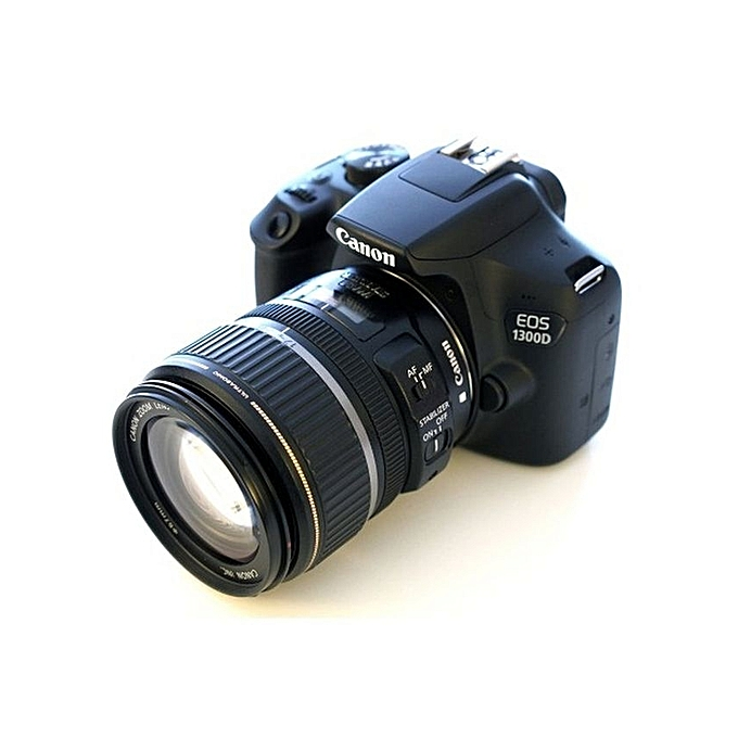 EOS 1300D DSLR Camera With 18-55 Mm F/3 5-5 6 Lens - Black