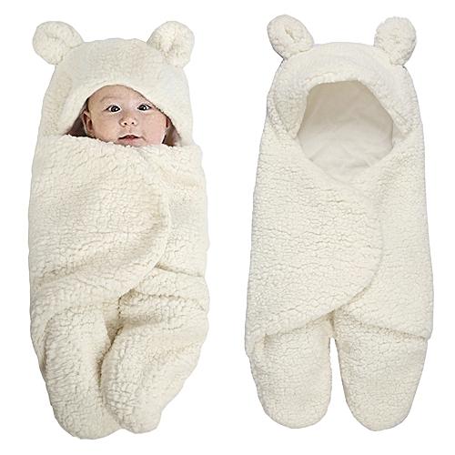 Newborn Baby Swaddle Wrap Soft Winter Baby Bedding Receiving Blanket Manta Bebes Sleeping Bag