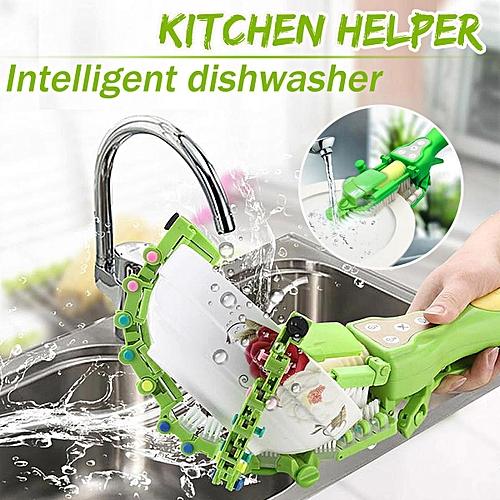 Portable Automatic Smart Dish Washer Machine Handheld Kitchen Bowl Dishwasher