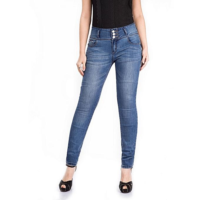 f51053dc94c2e Jeans   Jeggings Suitable   Comfortable 2017 Big Size Plus Size Elastic  Waist Jeans For Women