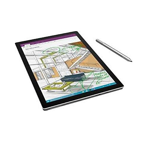 "Surface Pro 4 TJ2-00004 Intel Core I5-6300U,2.4GHz,256SSD/8gb,Cam,Blth,Touch,""12""(2736x1824),Surface Pen,Power Supply,Win10Pro + BLACK KEYBOARD-SILVER"